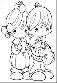 Christmas Coloring Pages Precious Moments With Family Free Library