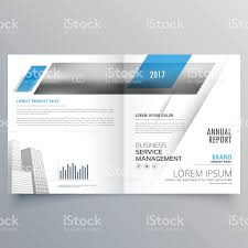 modern business bifold magazine booklet cover page design stock modern business bifold magazine booklet cover page design royalty stock vector art