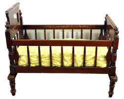 Antique Baby Cribs Walnut Baby Crib