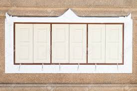 Rectangular Shape Panes Windows With Decorative Border Beautiful