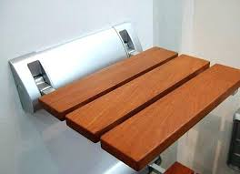 wall mounted folding shower seat wall mounted shower bench modern teak wood folding shower mounted shower