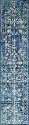 blue rug runner navy 3 x area rugs kitchen runners for hallways royal wedding floor ireland blue rug runner