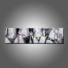 handmade abstract modern living room decoration long size oil painting on canvas hot lady y oil painting in painting calligraphy from home