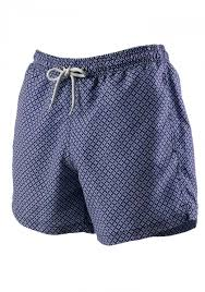 shorts with purple pink and blue print