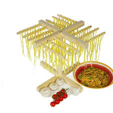 Modern Kitchen Utensils Gadgets 12 Arms Wood Noodle Pasta Drying