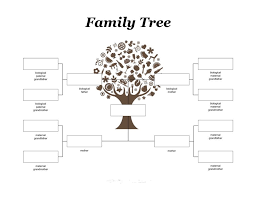 85 Best Family Tree Templates Images On Pinterest Family Tree For