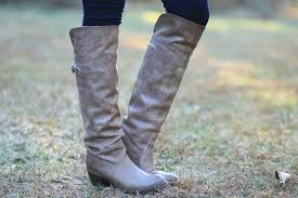 frye jane tall over the knee riding boot gray leather riding boots vintage style leather frye boots
