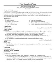 Professional Resumes Template Simple Free Professional Resume Templates LiveCareer