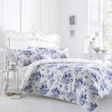 33 sweet idea blue flower duvet cover fl sweetgalas bedroom scandinavian with white wood headboard bed and helena springfield margueritte reversible