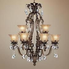 bronze and crystal chandelier. Wonderful Bronze Crystal Chandelier Chandeliers With Crystals Worldwide Lighting Versailles 18 And I