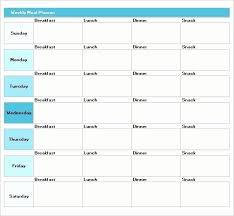 Luxury 45 Printable Weekly Meal Planner Templates Weekly Meal