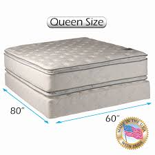 slumber mattress in a box. Queen Mattress Box Spring Unique Fort Double Sided Pillowtop Size 60\u0026quot;x80\u0026quot Slumber In A