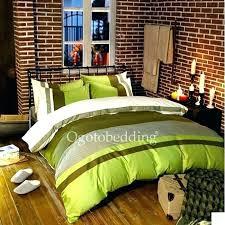 olive green bedding set