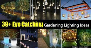 for garden lighting success experiment