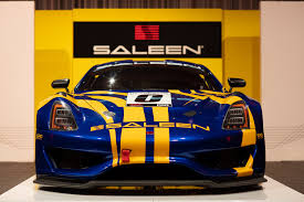 Race Car Engine Design Saleen Unveils Gt4 Concept Race Car Business Wire
