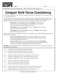 Verb-tense-worksheets & Writing Past Tense Verbs Worksheets