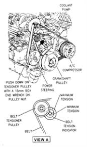 solved diagram for drive belt replacement 2004 chevy fixya need drive belt diagram for a 2004 chevy impala ls 3800