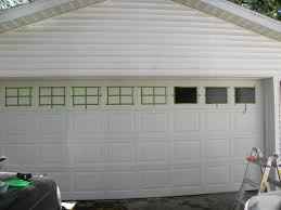 diy garage door window kits
