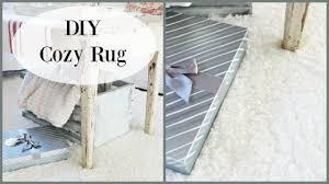 diy cozy area rug