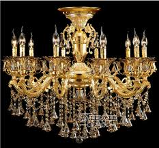 classic luxurious gold crystal chandelier lighting large crystal re hanging lamp for foyer md8713 d840mm h820mm