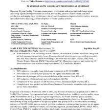 Valid Resume Sample For Quality Assurance Manager | Bluegenie.co