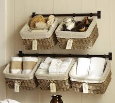 bathroom wall storage baskets. Beautiful Bathroom Bathroom Organization Ideas Storage And Pottery Regarding Wall Baskets  Decorations 9 To