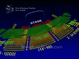 St James Theatre Frozen Seating Chart St James Theatre Interactive 3 D Broadway Seating Chart