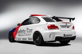 BMW 5 Series 1 series bmw coupe m sport : BMW 1-series M Coupe MotoGP pace car | Evo