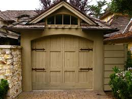 cottage garage doorsEVEN THE GARAGES IN CARMEL ARE CHARMING  Once upon a timeTales