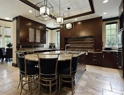 kitchen designs dark cabinets.  Designs KitchenKitchen With Dark Cabinetry Rounded Island Custom Luxury Kitchen  Design Ideas Cabinet Colors And Intended Designs Cabinets