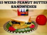 another weird pb sandwich