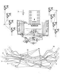 Spark plug wiring diagram 2004 dodge ram hemi wire new