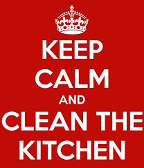 keep calm and clean the kitchen 2