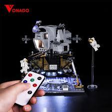 <b>Vonado Light</b> DIY Series For Lego 10266 Apollo 11 Moon Landing ...