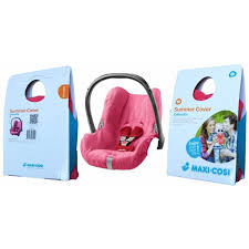 maxi cosi cabriofix summer cover pink designed to fit over your cabriofix car