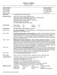 Aviation Resume Sample 3 | Handplane Goodness