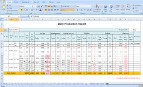 Production Reporting Templates Tips To Make Daily Production Report Quickly