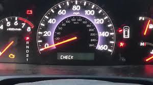 2008 Honda Odyssey Ex L Check Fuel Cap Youtube
