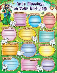Sunday School Chart Ideas Gods Blessings Birthday Chart Birthday Charts Birthday