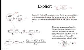 lecture 5 explicit and implicit finite difference