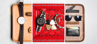3 perfect valet trays curated