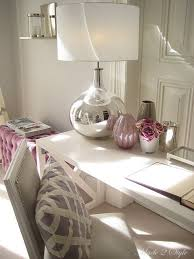 home decor accessories lavender white and silver my home