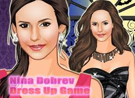 nina dobrev dress up by sweetygame