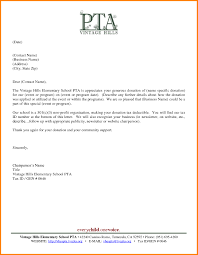 Pta Templates Pta Fundraising Letter Template Examples Letter Templates