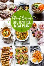 Plant Based Diet Chart Plant Based Gluten Free Meal Plan