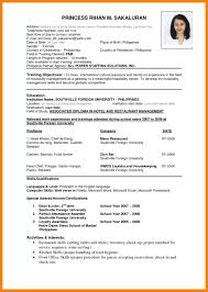 Resume Amazing Cvsume Format Sample Pin By Maliha Fatima
