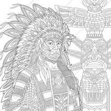 American Indian Coloring Pages Elegant Stock 254 Besten Indianer