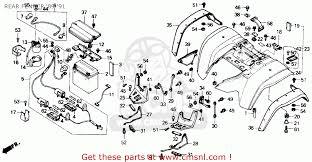 honda trx 300 engine diagram honda wiring diagrams
