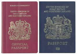 British Passport Design After Brexit Brexit Is Happening Now At Least On Some U K Passports
