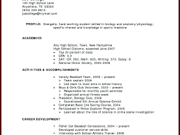 Working Student Resume Sample Howo Write Resume With No Job Gorgeous Working Student Resume Sample